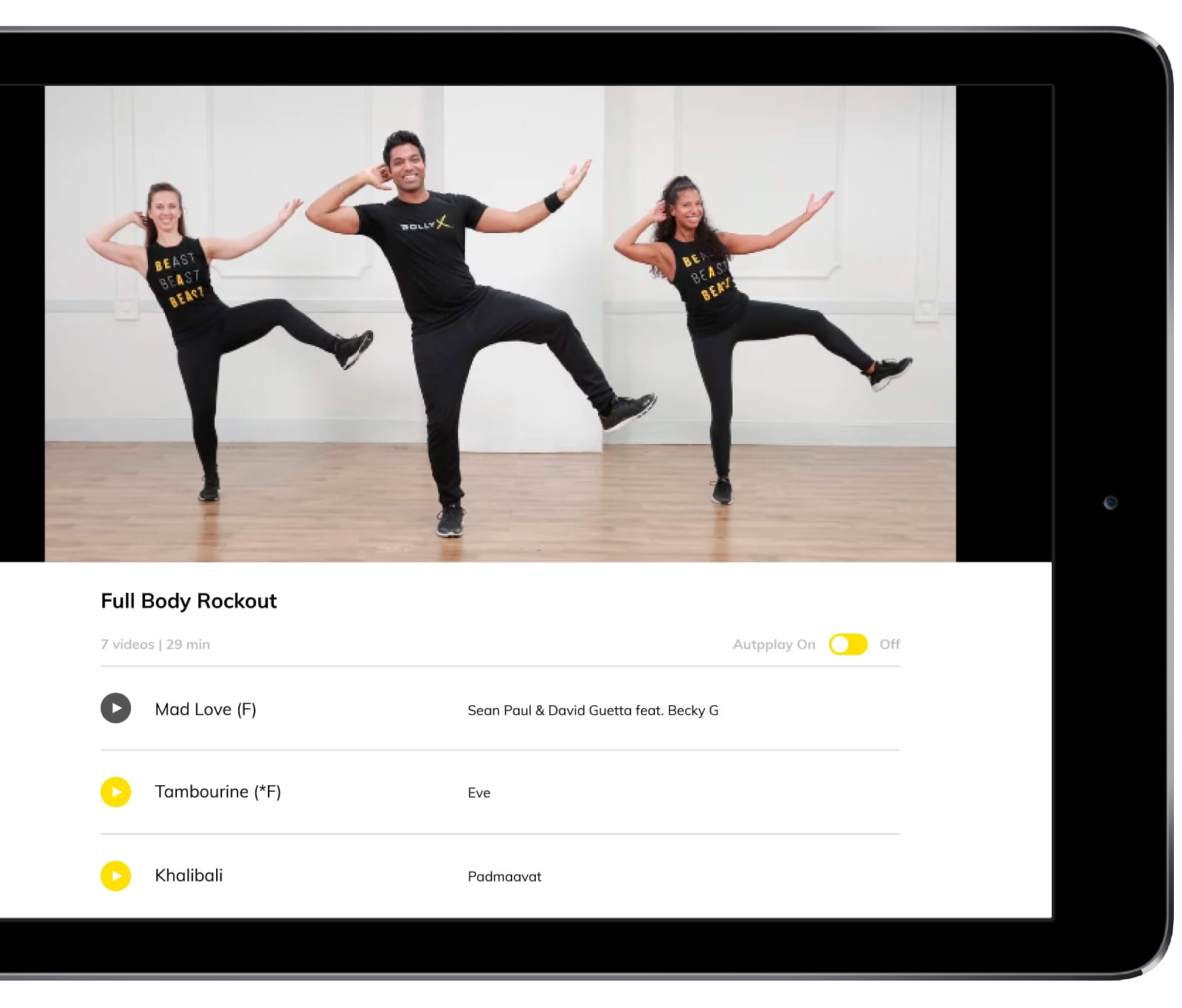 Bollywood Dance Fitness Workout - #BollyX